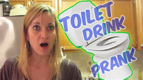 toilet water drink prank prank vs prank prank