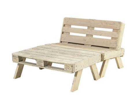 fabrication canapé en palette fabrication canape palette bois maison design bahbe com