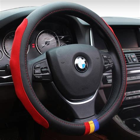 Sports Steering Wheel New Suede High End Sports Car