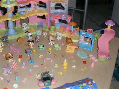vend lot 27 petshop accessoires maison ville