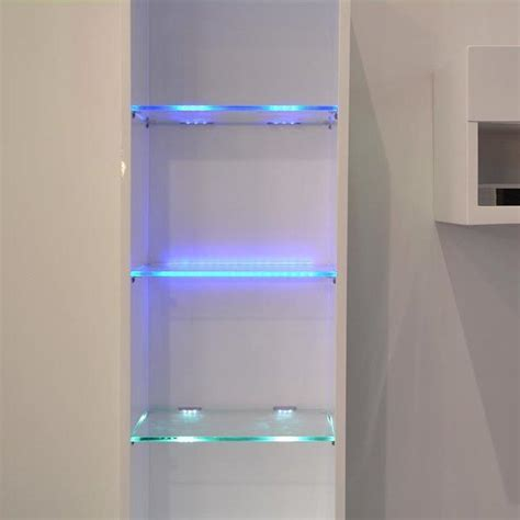 aiboo  cabinet led lights  glass edge shelf