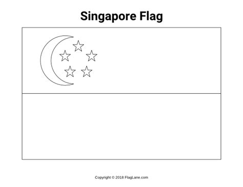 Free Country Flag Coloring Pages