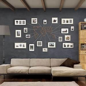 Deco Murale Industrielle : notre d coration murale m tal de carte du monde en bronze disponible en version xxl sur artwall ~ Teatrodelosmanantiales.com Idées de Décoration