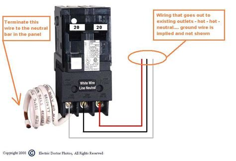 Wiring Square Amp Gfci Breaker For Hot Tub