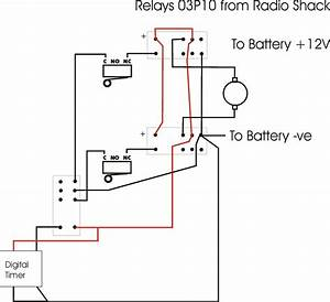 How Do I Wire A 12v Dc Motor To Micro Switches Relay