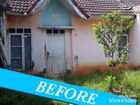 renovasi rumah desain minimalis sebelum  sesudah youtube