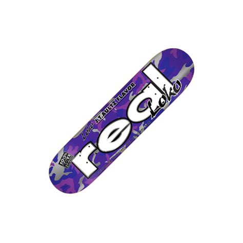 Real Skateboard Decks 80 by Real Skateboards Real Aultz Loko Skateboard Deck 8 0