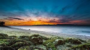 Sunset At Beach Uhd 4K Wallpaper Ultra HD 4K Wallpapers ...