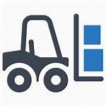 Icon Logistics Warehouse Forklift Icons Packs Psd