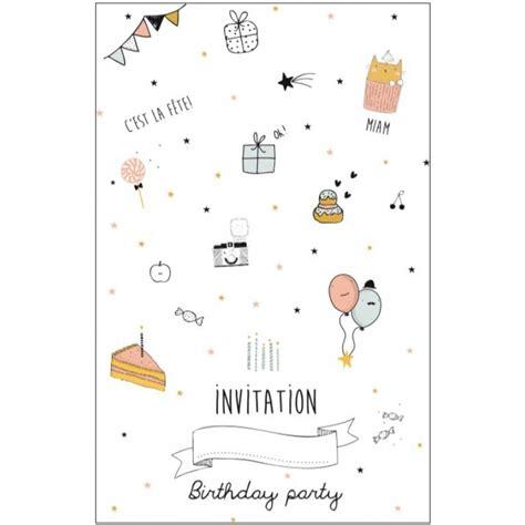 rangement torchons cuisine carte d 39 invitation anniversaire fille emile ida