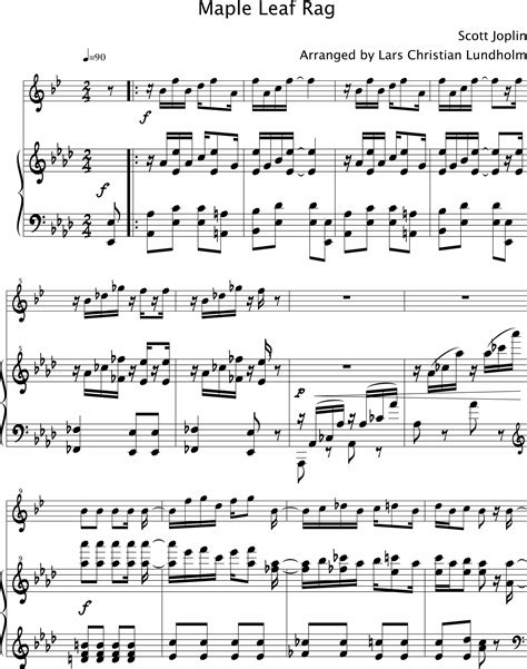 86%(7)86% found this document useful (7 votes). Maple Leaf Rag Piano Sheet Music Free - Best Music Sheet
