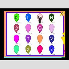 Capital Letters In Sequence  Missing Letters  Kindergarten Activity Youtube