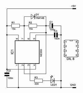 Led Schaltung Berechnen : wechsel blinkerschaltungen mit dem ne555 ~ Themetempest.com Abrechnung