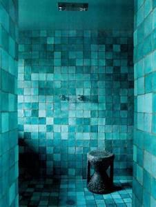 Bad In Türkis : t rkis wand im badezimmer moderne blaugr ne fliesen ~ Sanjose-hotels-ca.com Haus und Dekorationen