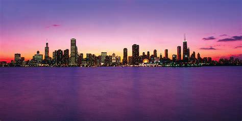 chicago skyline wallpaper chicago skyline purple