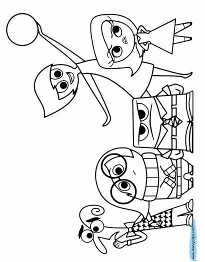 Coloring Inside Pages Joy Drawing Pixar Presto