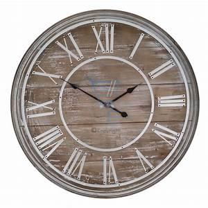 Große Wanduhr Holz : 80cm holz wanduhr vintage shabby chic gro jethelm r mische ziffern ebay ~ Indierocktalk.com Haus und Dekorationen