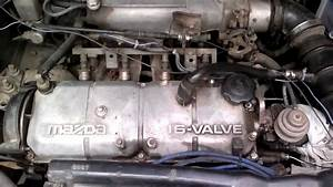 B6 ET Engine In Mazda 323 Sedan 1993 YouTube