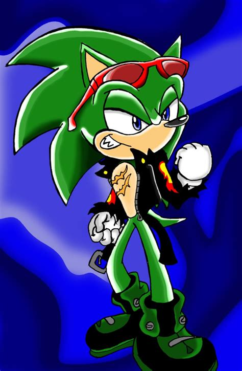 Scourge The Evil Hedgehog By Sonicknight007 On Deviantart