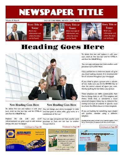 newspaper ad template modern newspaper layout design tips