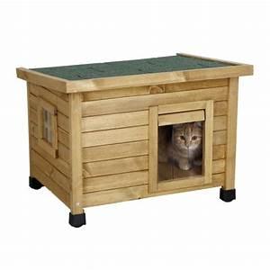 Maison Exterieur Pour Chat : maison rustica niche maison pour chat kerbl wanimo ~ Dailycaller-alerts.com Idées de Décoration