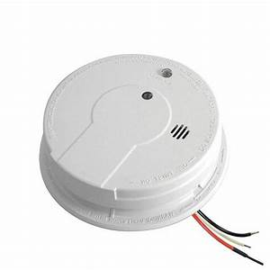 Kidde I12040 Hardwired Smoke Alarm With Battery Back