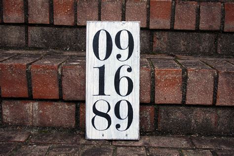 Special Date Sign | Signs by Andrea