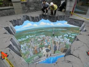 breathtaking 3d street art 3d chalk art
