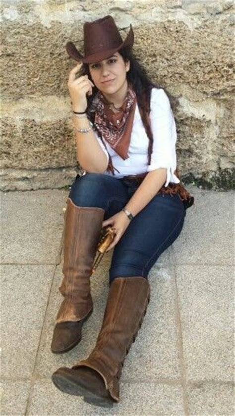 Best 25+ Cowgirl costume ideas on Pinterest   Fasching make up cowgirl Cowgirl diy costume and ...