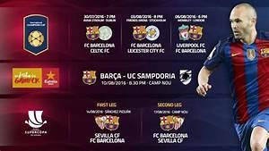 FC Barcelona's pre-season schedule - FC Barcelona