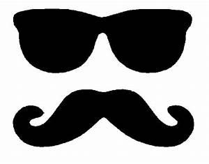 Graphics for handlebar mustache clipart - Clipartix