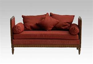 french daybed sofa or single chaise longue in oak circa With french sofa bed