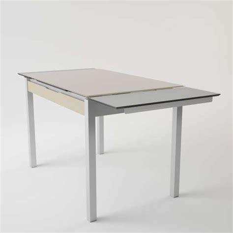 amortisseur tiroir cuisine table de cuisine en verre extensible avec tiroir camel