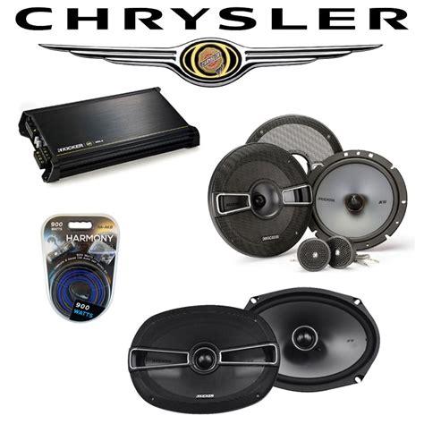 Chrysler 300 Stereo Upgrade by Fits Chrysler 300 2008 2010 Factory Speaker Upgrade Kicker