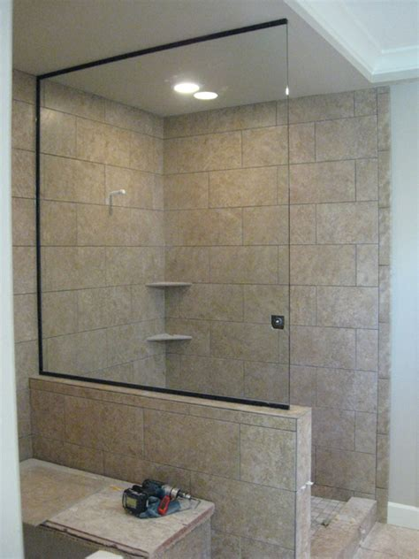 open glass shower frameless shower doors portland or esp supply inc mirror and glass