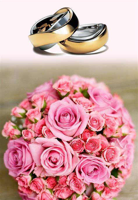 Cincin Kawin Od 2509 A gambar menanam daun bunga berwarna merah muda