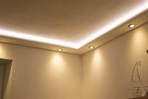 Stuckprofile WDML 200B PR für indirekte Beleuchtung Wand