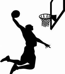 Guy Shooting Basketball Clipart - ClipartXtras