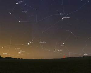 Stars and Planets - Night Sky This Month – One Minute ...