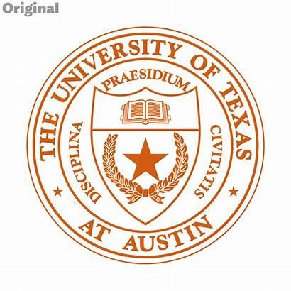Texas University Austin Seal Symbol Academic Dyal