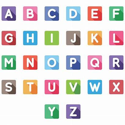 Letters Printable Alphabet Colored Printablee