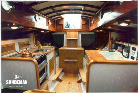 ed burnett  ft gaff cutter  sandeman yacht company