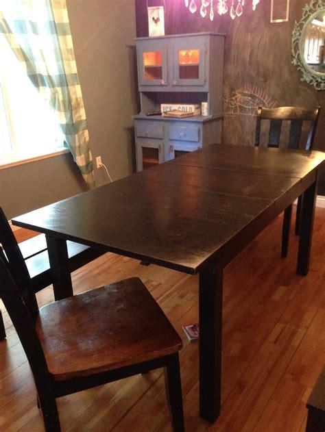 forced  ikea table  turn   diy farmhouse