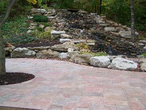 landscape paver pavers flagstone landscaping st louis landscape design landscape architecture