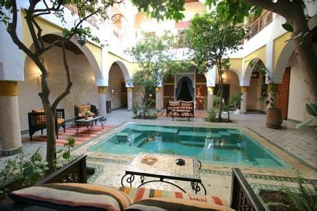 nice pool place indoor courtyard spanish style homes courtyard  pool
