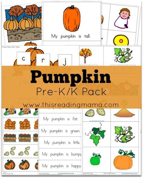 free pumpkin prek k pack 759 | Pumpkin Pre K K Pack from This Reading Mama