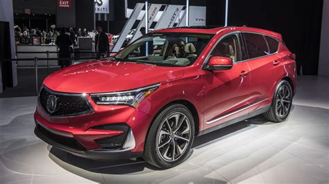 2019 Acura Rdx Debuts In Ny With Aspec Version And