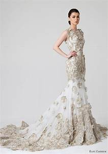 rani zakhem spring 2014 wedding dresses summer 2014 With white wedding dress with gold accents