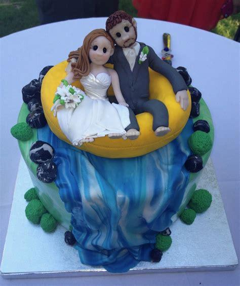 white water rafting wedding cake topper   Wedding Cakes by ...