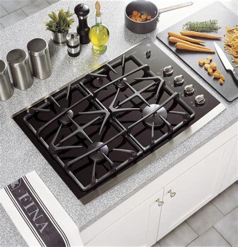 jgpsekss ge profile series  built  gas cooktop stainless steel